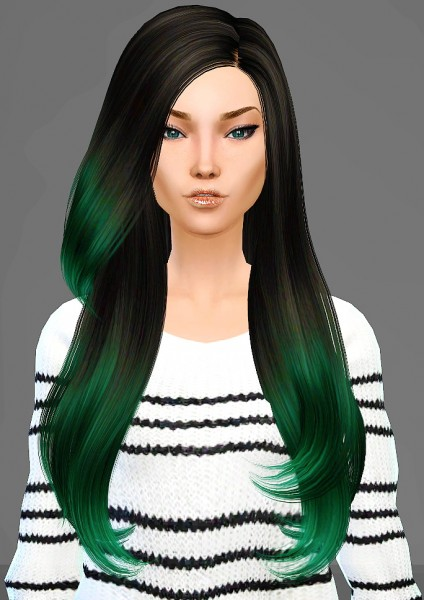 Artemis Sims: B Flysims 092 hairstyle retextured for Sims 4