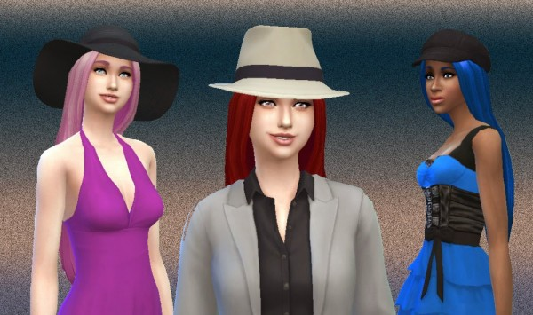 Mystufforigin: Dream hairstyle version 2 for Sims 4