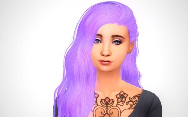 Swirl Goodies: 4 hairstyles retextured for Sims 4