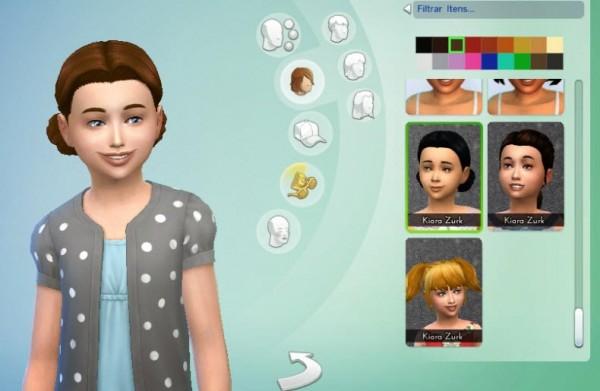 Mystufforigin: Buns Low for Girls for Sims 4