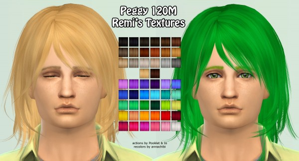 Annachibi`s Sims: Peggy`s 120, 0039 and Newsea`s NightbloomJ078 for Sims 4