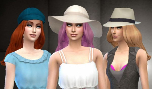 Mystufforigin: Floating Hairstyle (version 2) for Sims 4