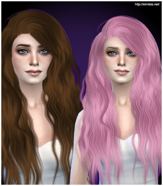Simista: Stealthic Sleepwalking hairstyle Retextured for Sims 4