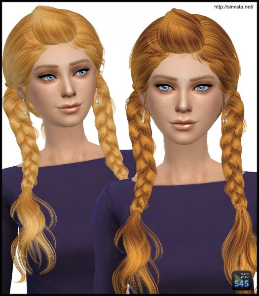 Simista: May 03F hairstyle retextured for Sims 4