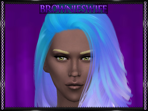 Brownies Wife Sims: Nightcrawler's Da Bomb Hair Maxis Match Recolors for Sims 4