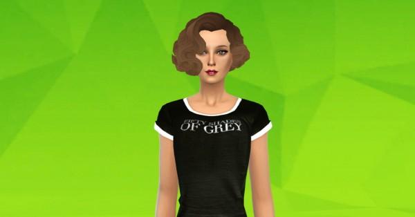 Ardatndr: Wavy Bob hairtyle retexture for Sims 4