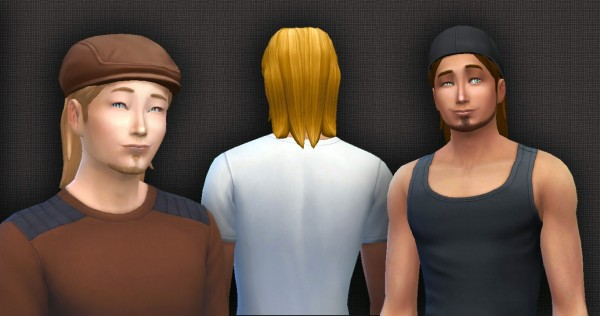 Mystufforigin: Aweless Hair for Sims 4