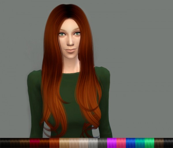 Delirium Sims: Alesso`s 60s hairstyle retextured for Sims 4