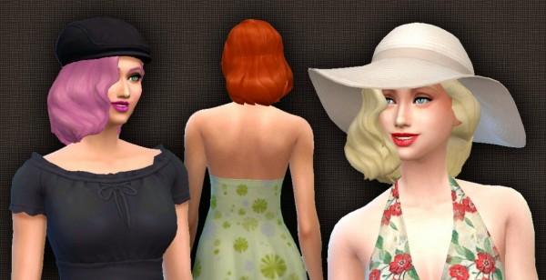 Mystufforigin: Medium Wavy Classic for Sims 4