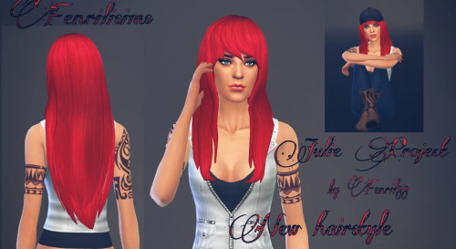 Fenrilsims: Julie hairstyle for Sims 4