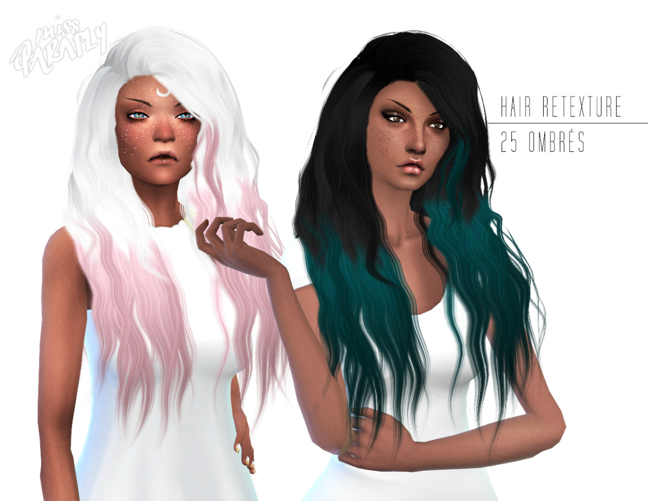 Hairstyles Gifts : ... Sleepwalking hairstyle retextured - 5000+ Followers Gift: part 2
