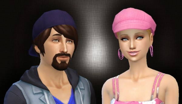 Mystufforigin: New Patch Hairstyle Converted for Sims 4