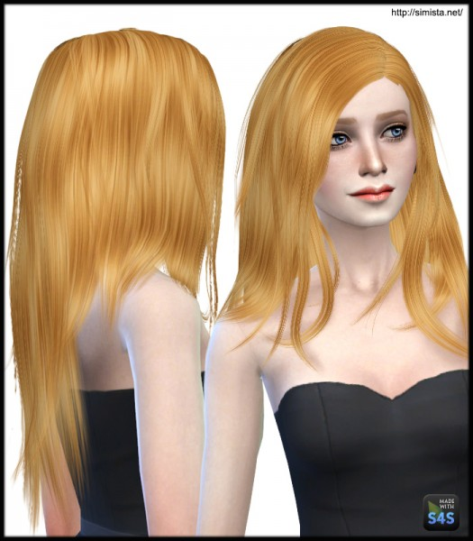 Simista: Stealthic Runaway hairstyle retextured for Sims 4