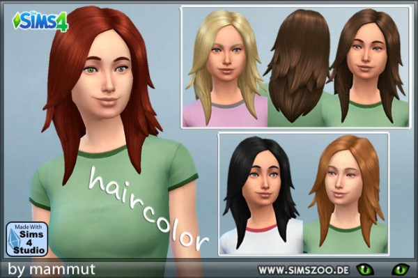 Blackys Sims 4 Zoo: Rock long 1 by Mammut for Sims 4
