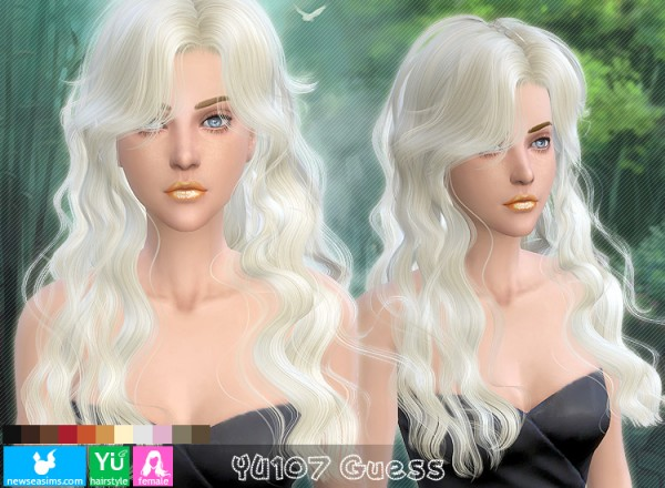 NewSea: Yu107 Guess for Sims 4