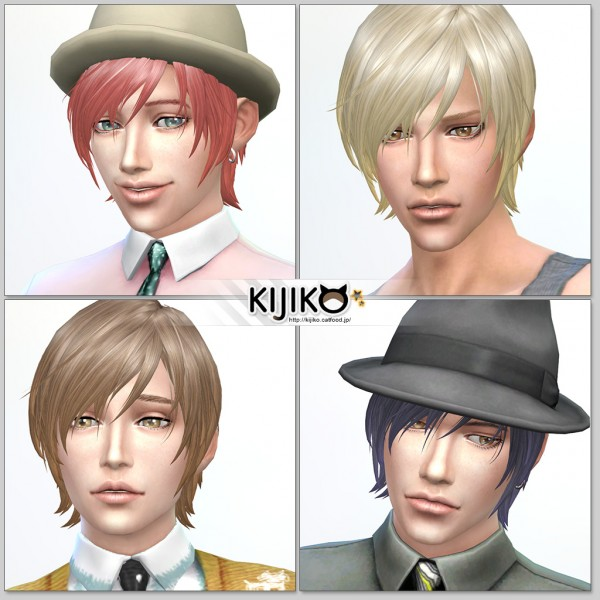 Kijiko Sims: Round Bob for him for Sims 4