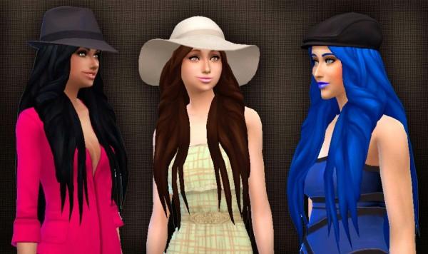 Mystufforigin: Mysterious Hair (version 2) for Sims 4