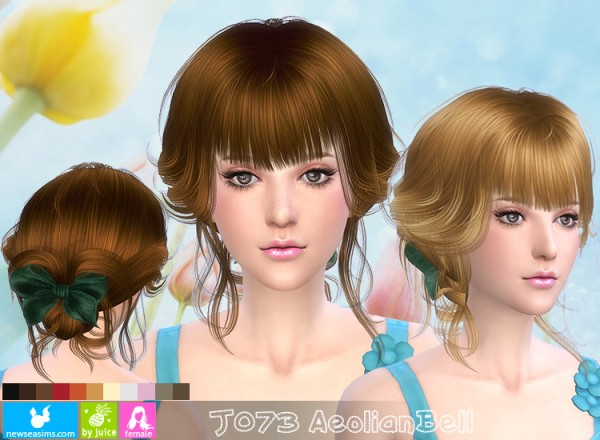 J Hairstyle: NewSea: J 073 AeolianBell Hairstyle