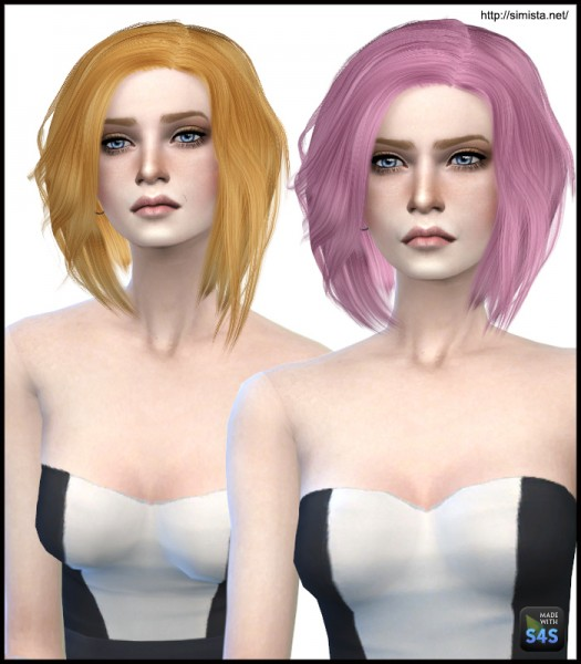Simista: Stealthic Vapor Hairstyle Retextured for Sims 4