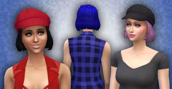 Mystufforigin: Med Clipped Back conversion for Sims 4