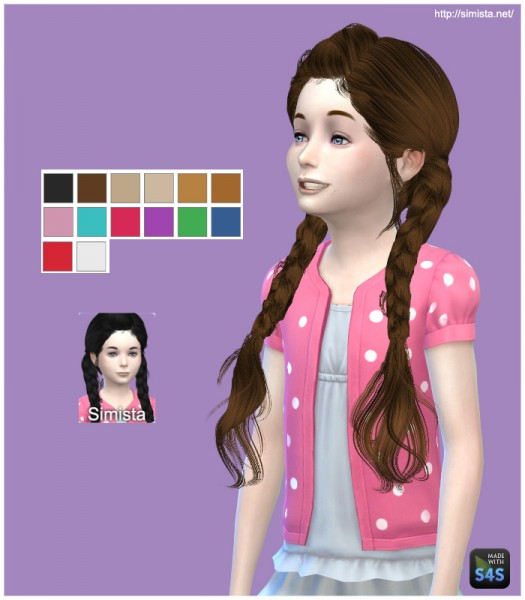 Simista: MAY 03G hairstyle retextured for Sims 4