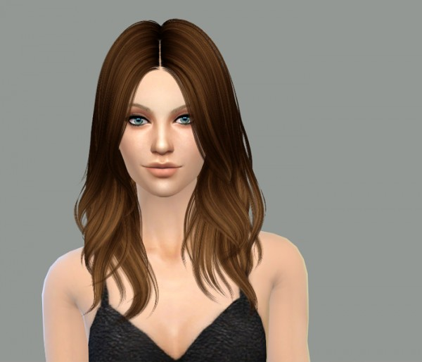 Delirium Sims: Nightcrawler's Turn It Up hairstyle retextured for Sims 4