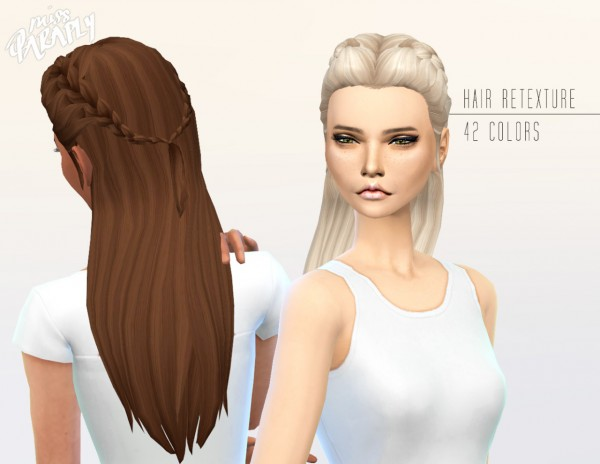 Miss Paraply: Kiara 24 Absolution hairstyle for Sims 4