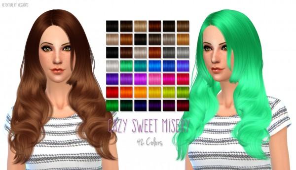 Nessa sims: Hair Dump #2 for Sims 4