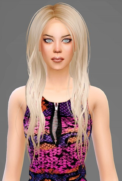 Artemis Sims: Newsea`s Viking conversion hairstyle for Sims 4
