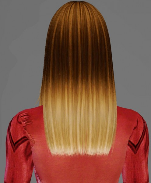 Artemis Sims: Nightcrawler`s New Yorker hairstyle retextured for Sims 4