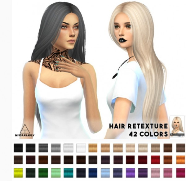 Miss Paraply: Nightcrawler G.U.Y. hairstyle retextured for Sims 4