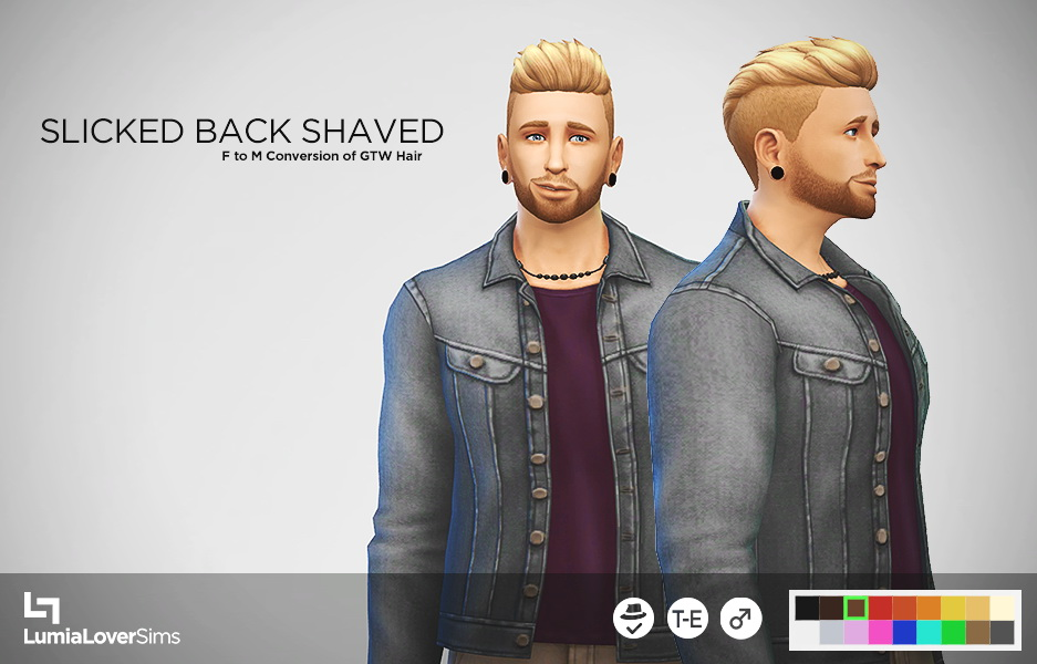 Sims 4 Hairs Lumia Lover Sims Get To Work Hairstyle