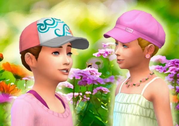 Mystufforigin: Pony Braid for Girls for Sims 4