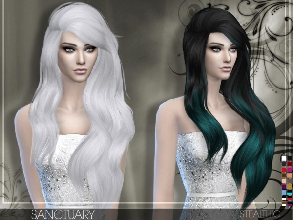 Stealthic: Sanctuary hairstyle for Sims 4