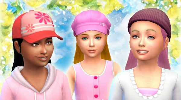 Mystufforigin: Absolution Hairstyle for Girls for Sims 4