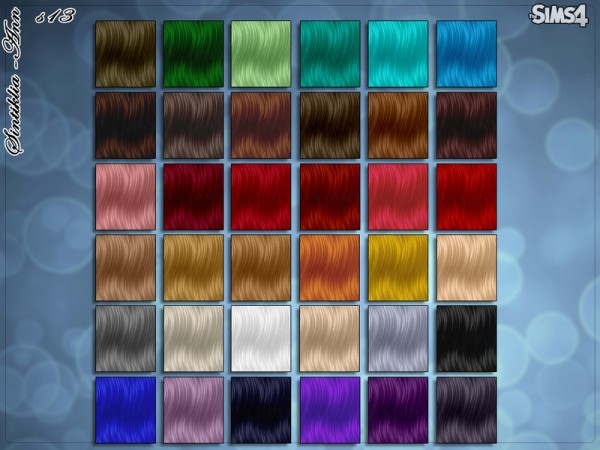 The Sims Resource: Hairstyle 13 Ann by Sintiklia for Sims 4