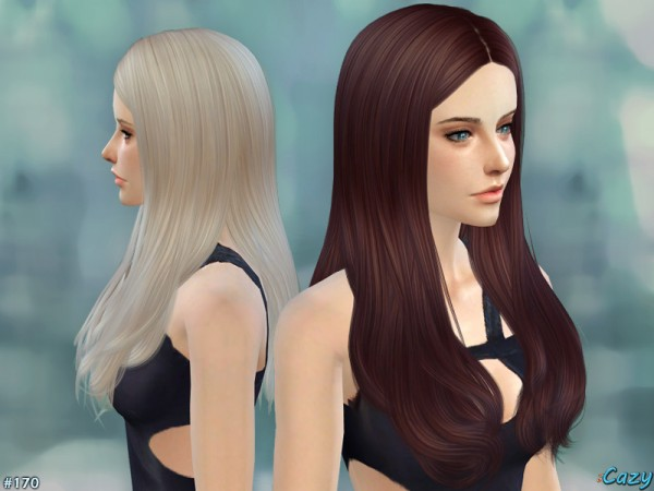 The Sims Resource: Jodie Hairstyle by Cazy for Sims 4