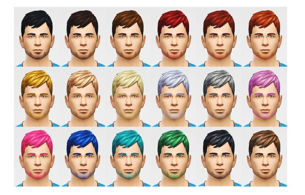 Lumia Lover Sims: A little bang action hairstyle for Sims 4