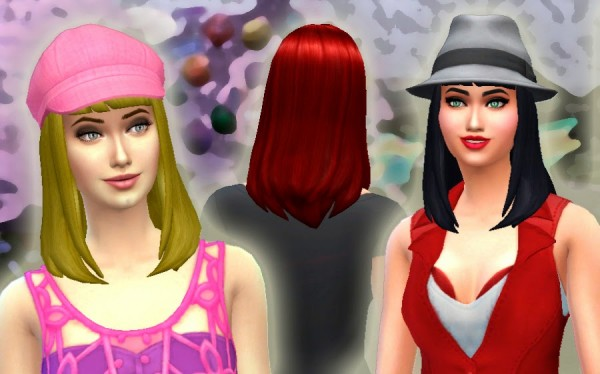 Mystufforigin: Katy Perry Sweet World   Hair + Acessory for Sims 4