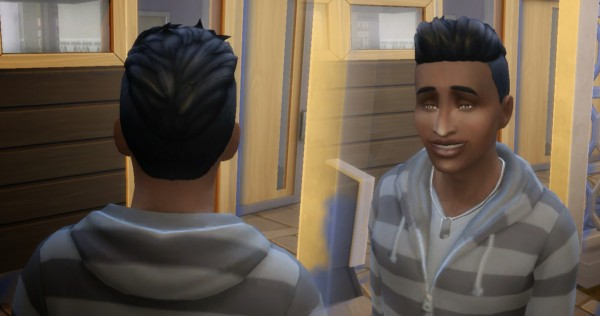 Mystufforigin: Short Shaved Conversion for Sims 4