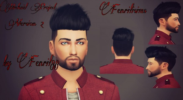 Fenrilsims: Mickael hairstyle for Sims 4