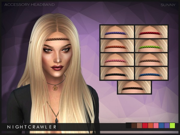 The Sims Resource: Sunny hairstyle by Nightcrawler for Sims 4