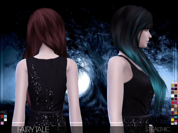 Stealthic: Fairytale hairstyle for Sims 4