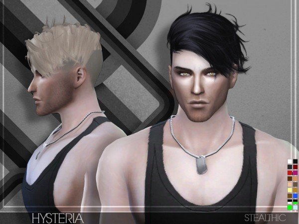 Stealthic: Hysteria hairstyle for Sims 4