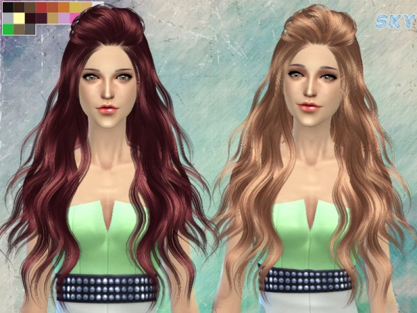 The Sims Resource: Hairstyle 265 by Skysims for Sims 4