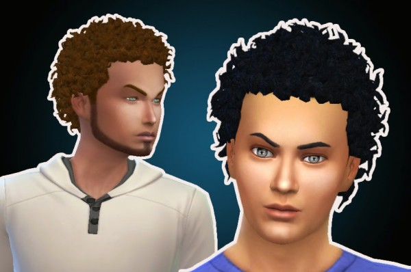 Mystufforigin: Close Curls for Sims 4