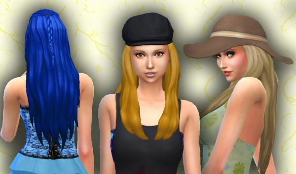 Mystufforigin: Chanceful Hair for Sims 4