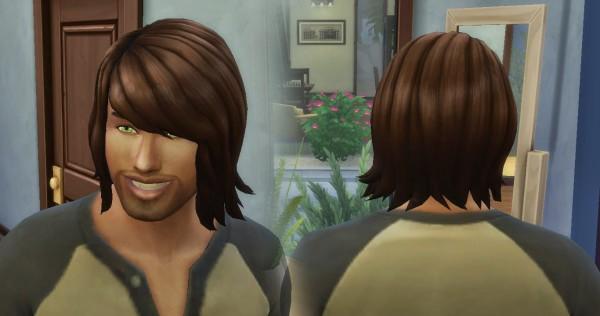 Mystufforigin: Bob Shaggy for Men for Sims 4
