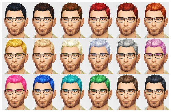 Lumia Lover Sims: Business hairstyle for him for Sims 4