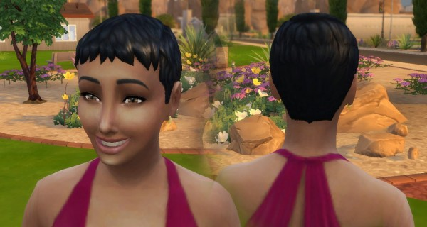 Mystufforigin: Short Ceasar Conversion for Sims 4